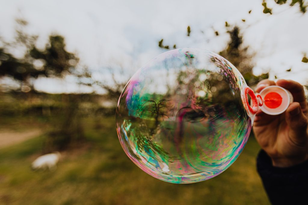 Blow Bubbles Balloon Alternative